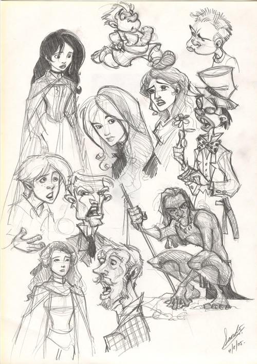 Sketch 29 by Sandora