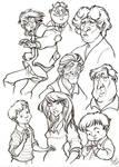 MnU Artbook Sketchpage