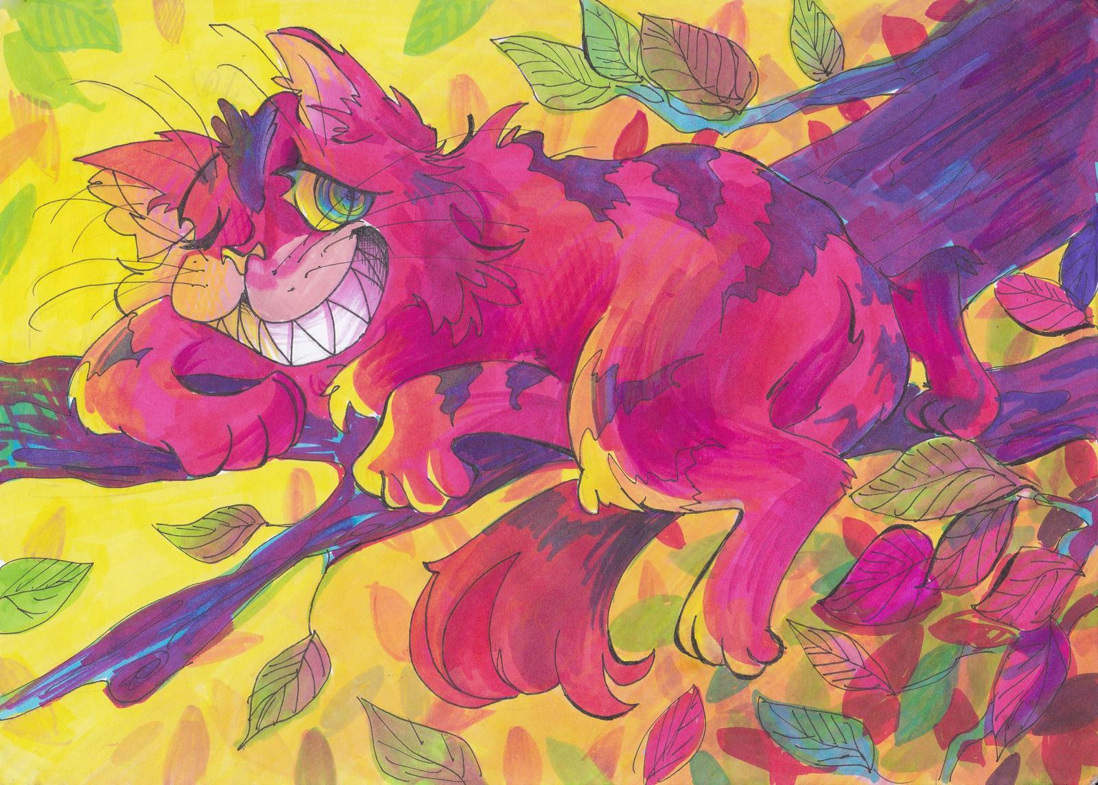 Cheshire Cat by Selebushka