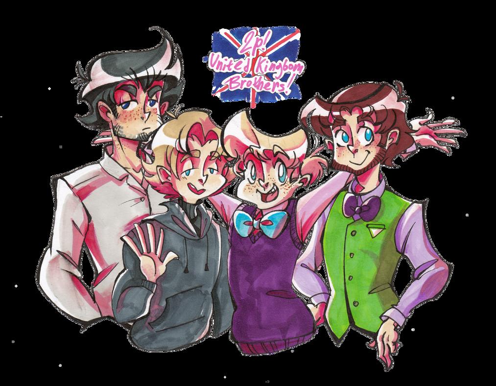 2p!United Kingdom Brothers by Selebushka