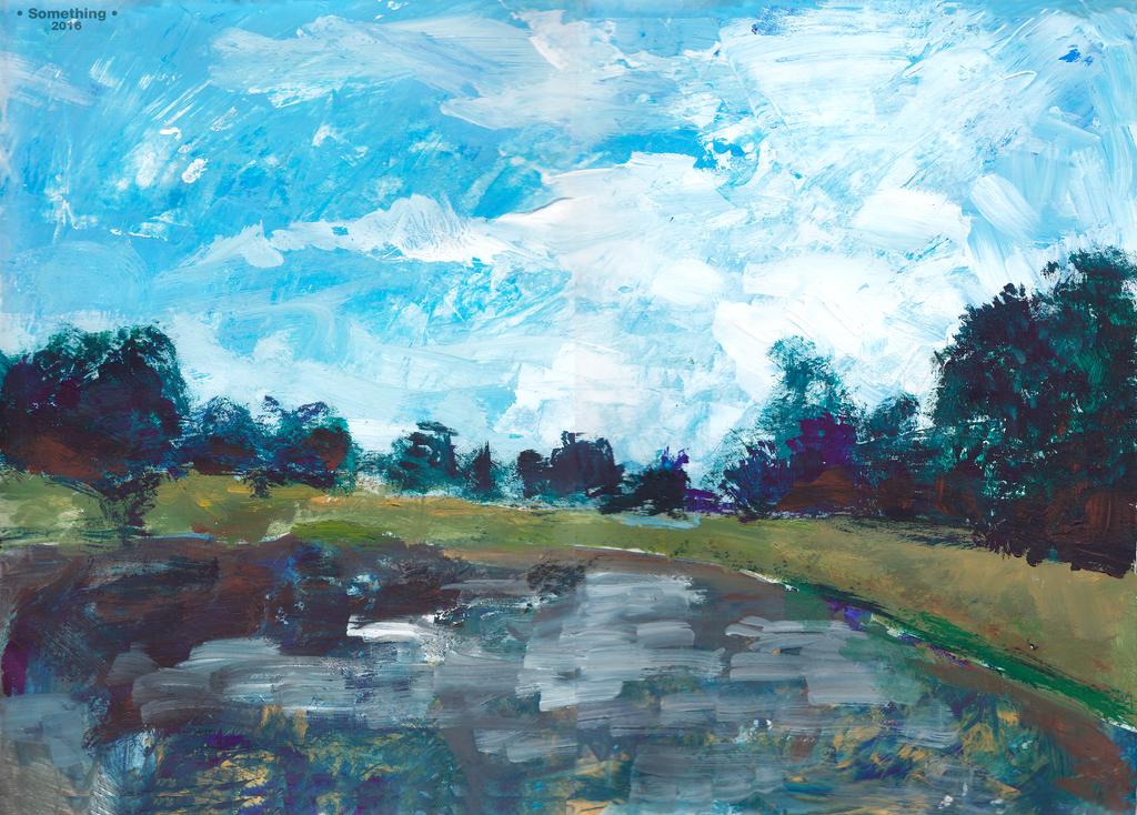 landscape by Selebushka