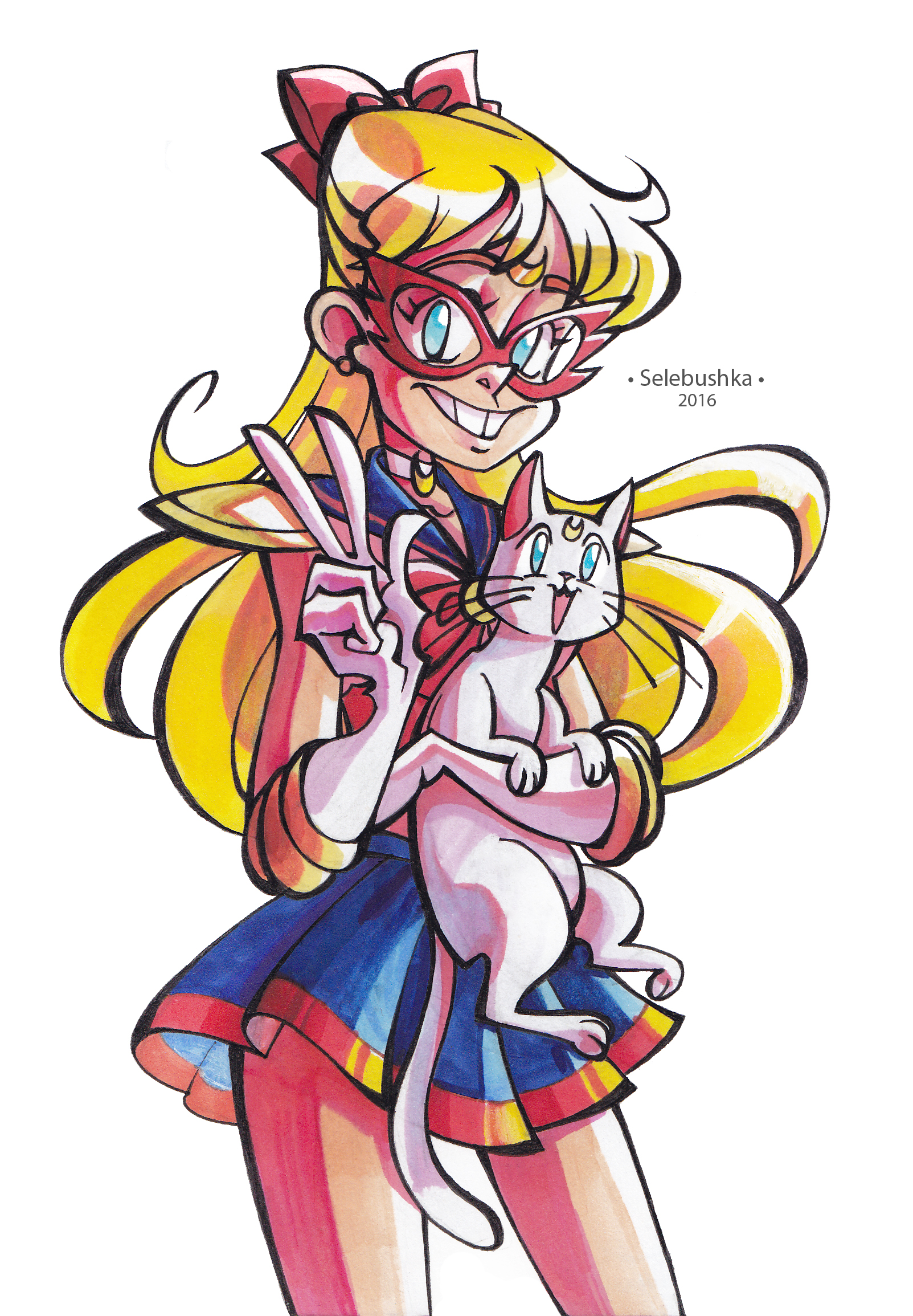 Sailor V by Selebushka