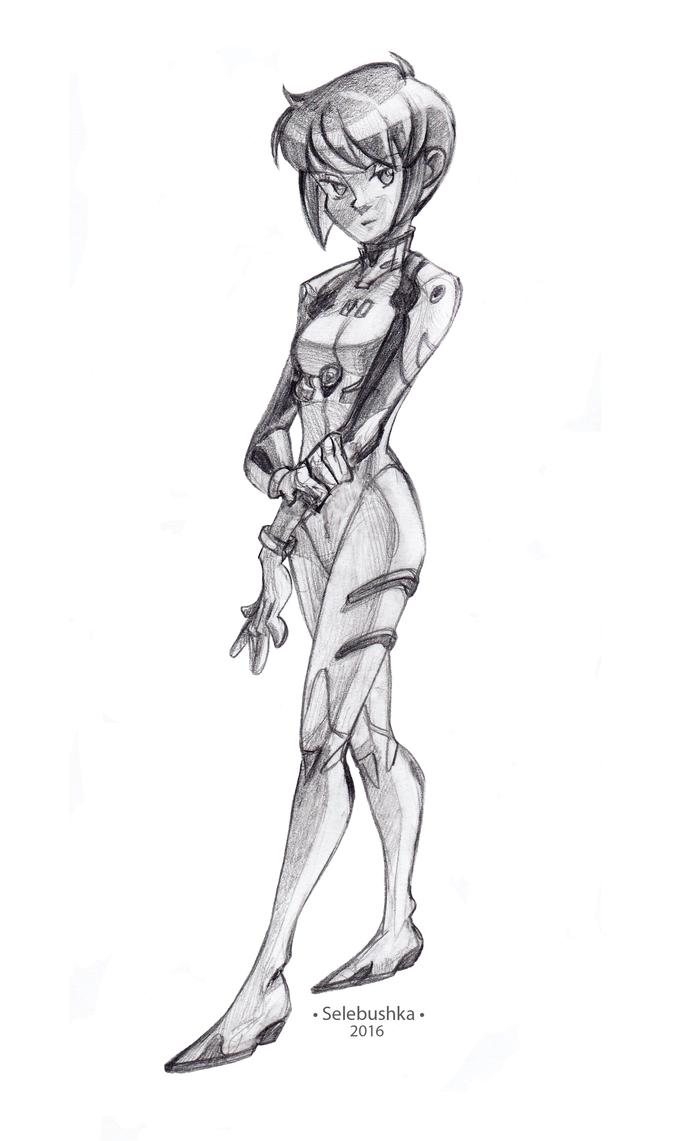 Rei Ayanami by Selebushka