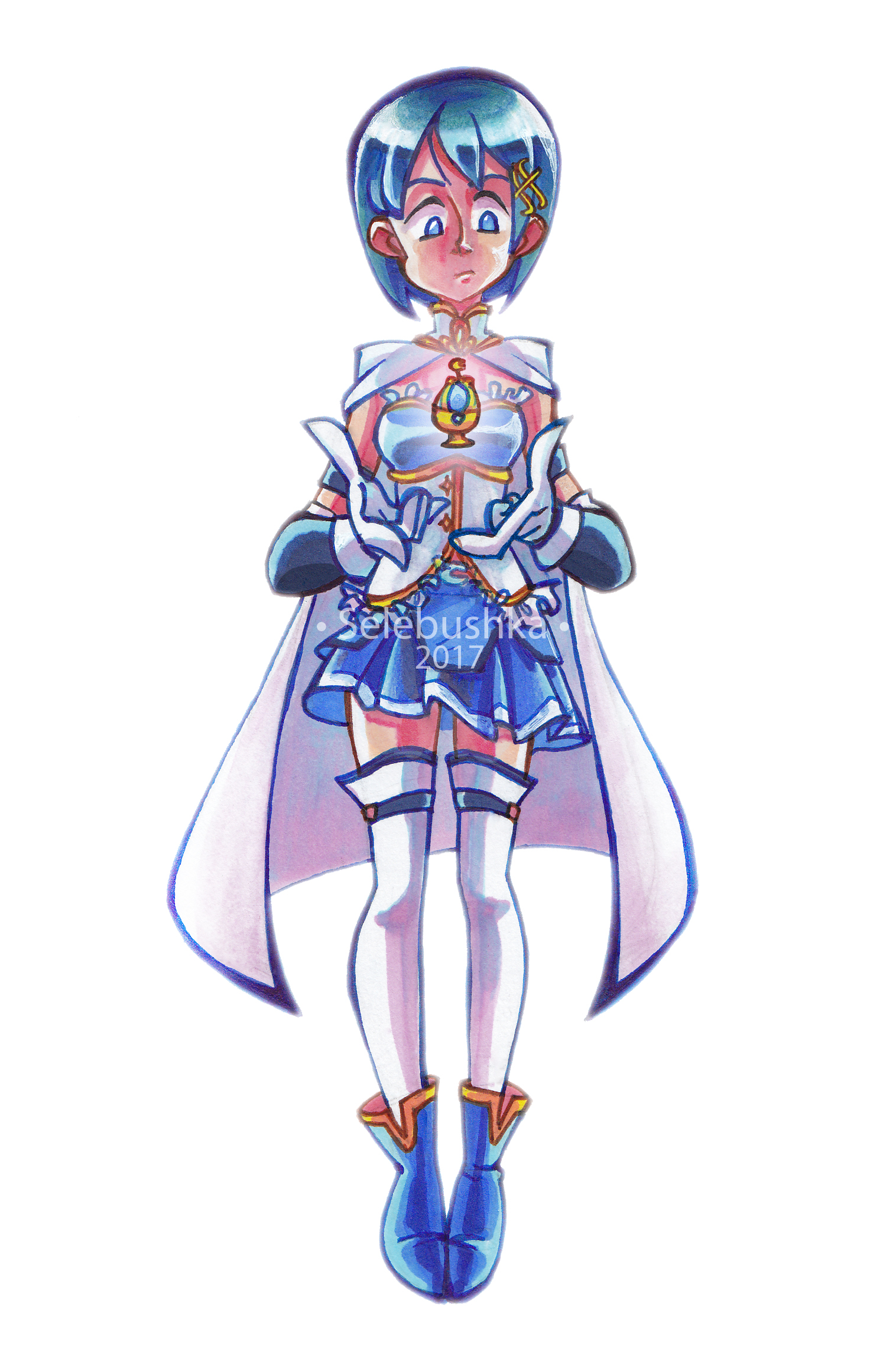 Sayaka Miki by Selebushka