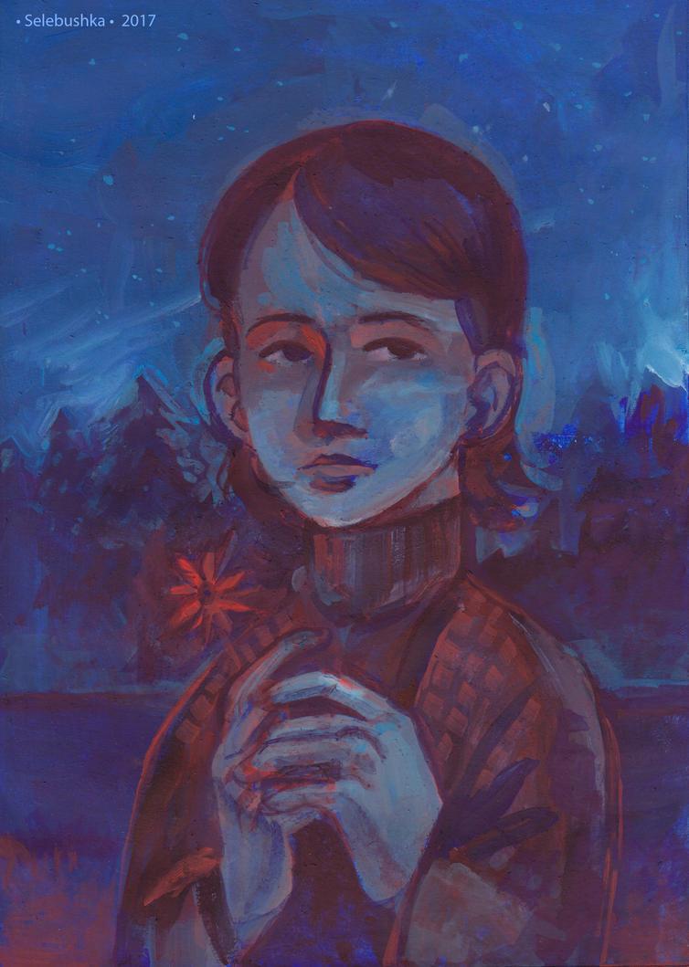 Blue by Selebushka
