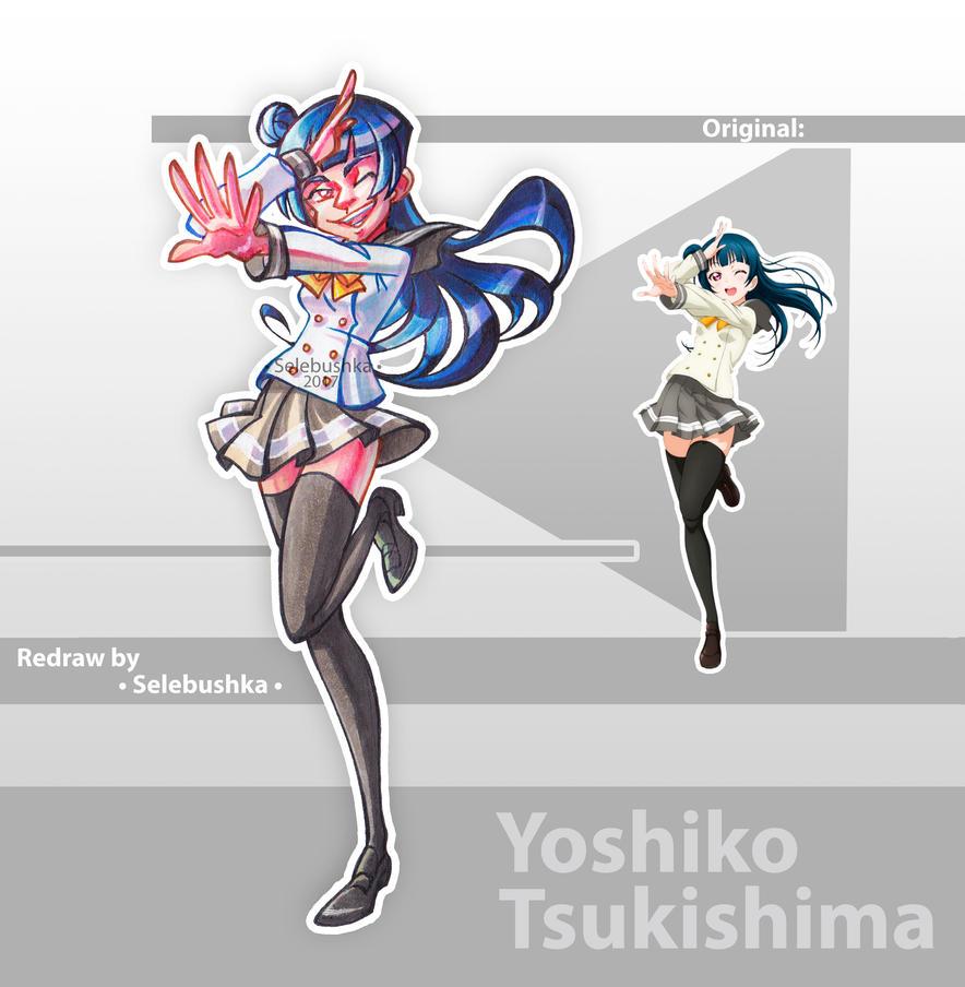 Yoshiko Tsukishima by Selebushka