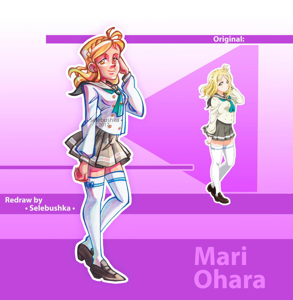 Mari Ohara by Selebushka