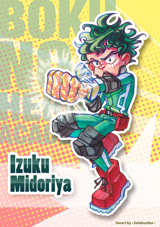 Midoriya Izuku by Selebushka