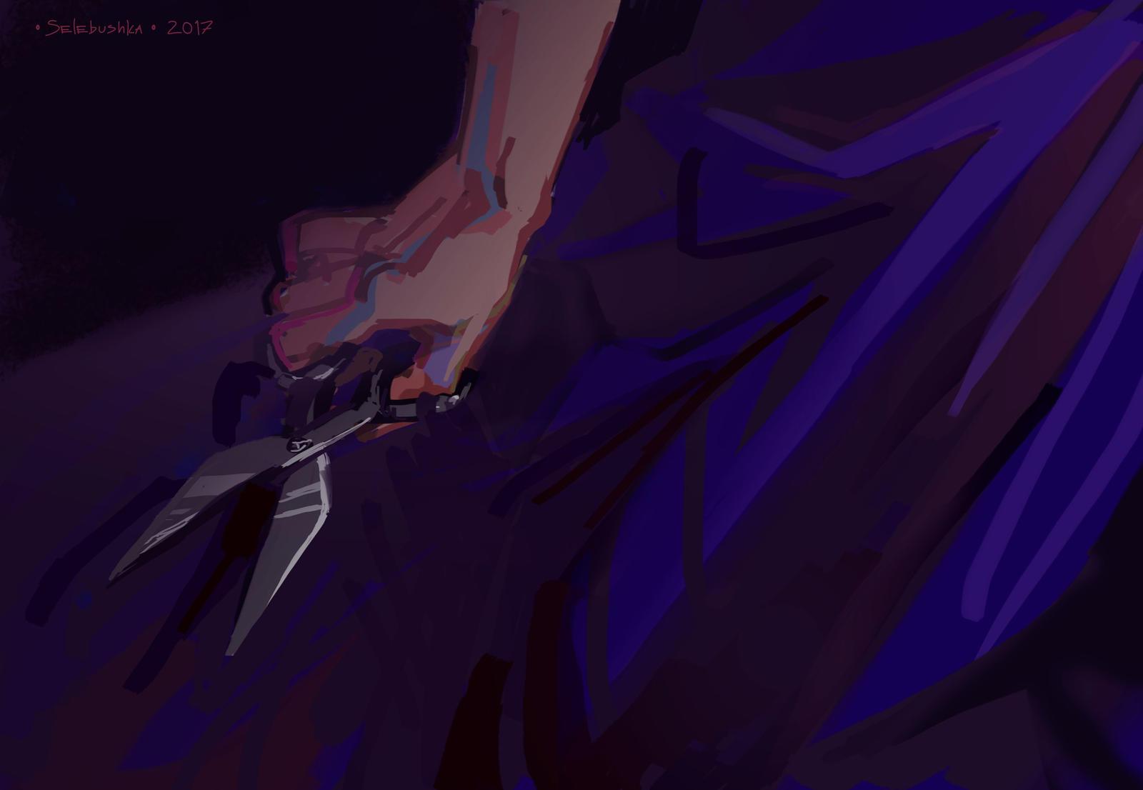 Scissors by Selebushka