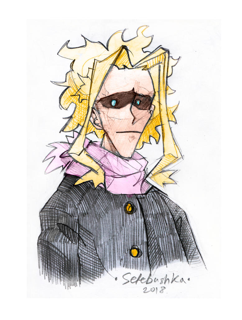 Toshinori by Selebushka