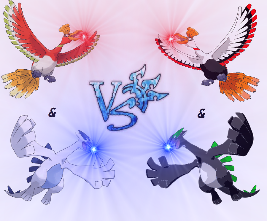 Ho-oh and Lugia vs My Shiny Ho-oh and Lugia by ...