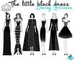 The Little Black dress Disney Princess