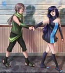 Ritsuka and Hro