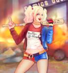 .Harley Quinn.