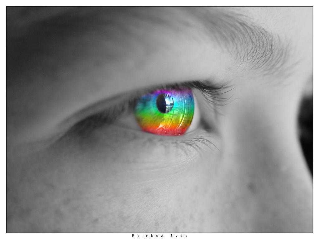Rainbow Eyes by Unidan on DeviantArt