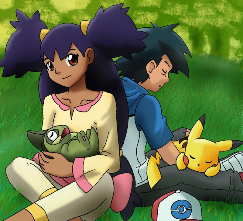 Ash and Iris by methuselah-alchemist