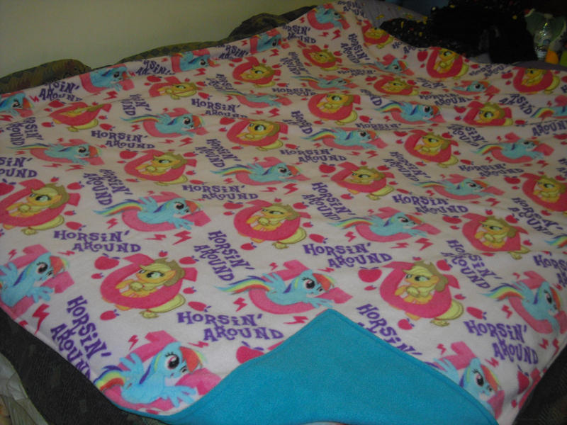 My Little Pony Fleece Blankets-- FOR SALE by methuselah-alchemist