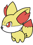 Fennekin Pokedoll Art
