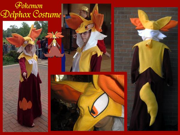 Delphox Costume by methuselah-alchemist