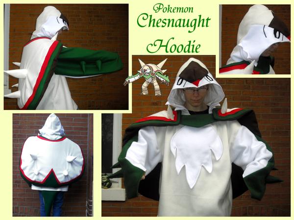 Chesnaught Hoodie by methuselah-alchemist