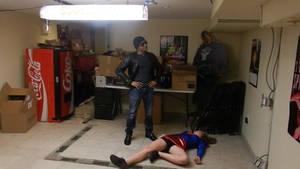 You lose Super-Cassie! game over!