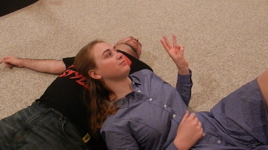 Cassie destroys Male Opponent on patreon by Enter-The-Gootzverse