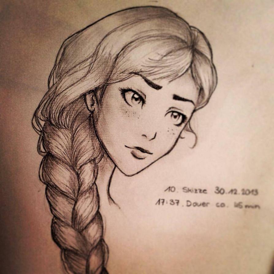 Braid Sketch By Fasli On Deviantart