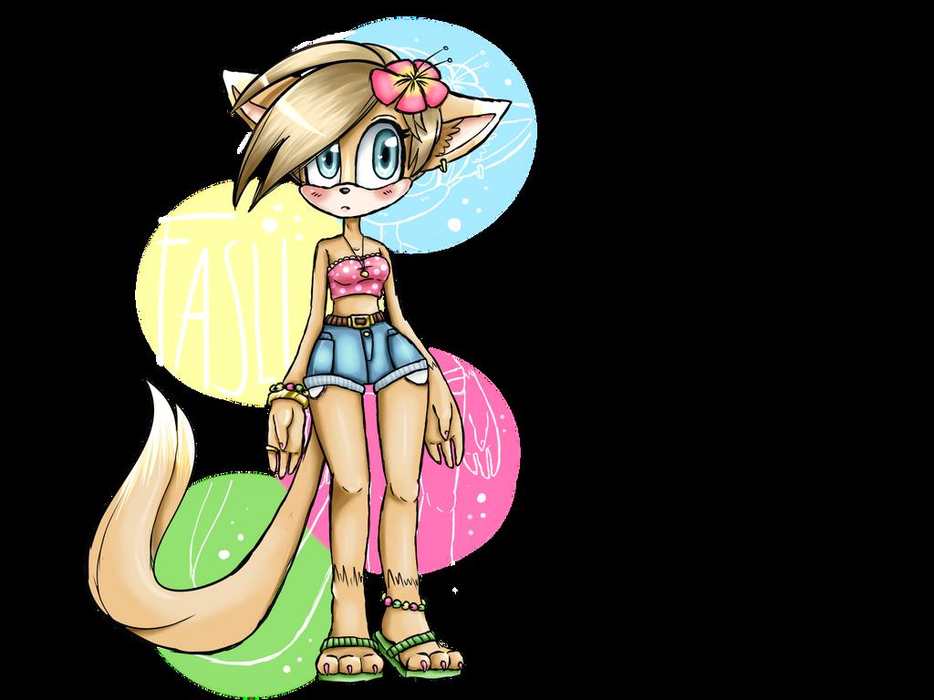 naked fox girl