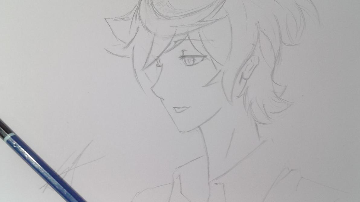 Kiznaiver Kacchan/ Katsuhira Quick Sketch by UsamaruAyakura