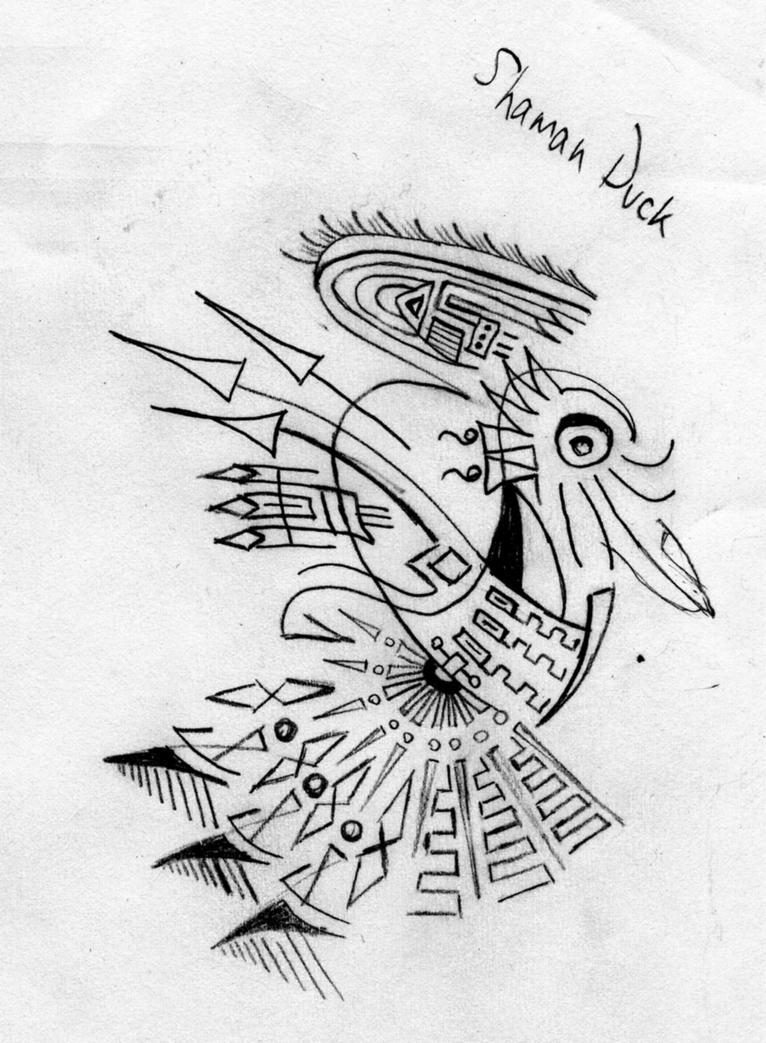 Shamanic Duck by Morbidosis