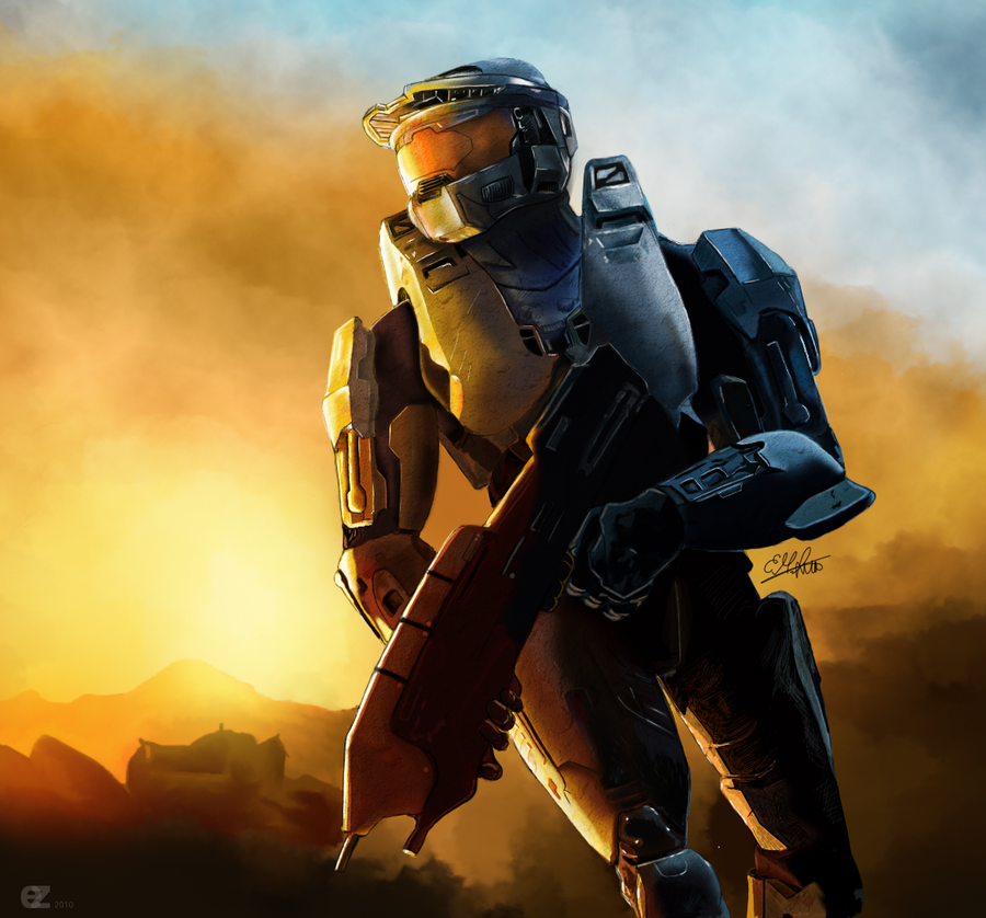 Halo - Masterchief by ezekdesigns