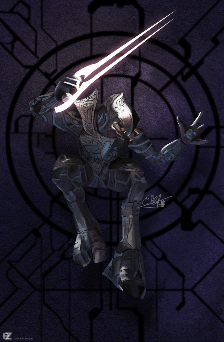 Arbiter Halo painting by ezekdesigns