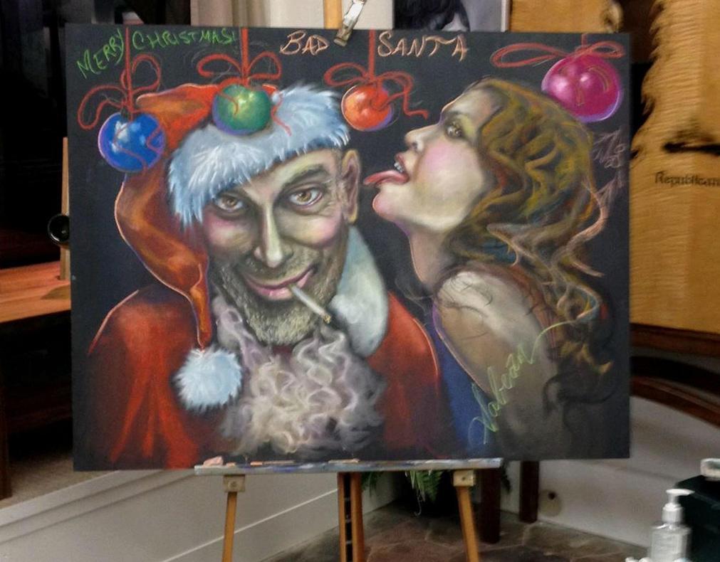 Bad Santa by RealNsurreal