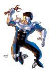 Jester as drawn by Gilbert Monsanto