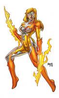 Sunrazor as drawn by Gilbert Monsanto