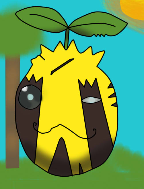 Captain Flowers, the Wannabe War Hero Ref Sheet by Kaiten-X