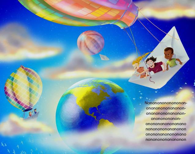 Children around the world by AngeloCarvalho