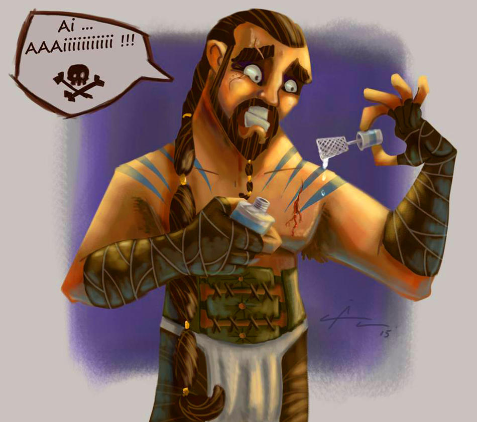 Khal Drogo _ Collab by AngeloCarvalho