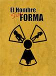 Poster minimalista Hombre Sin Forma by Neyebur