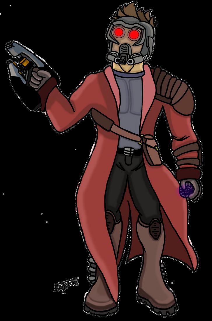 Star Lord And Rocket Raccoon By Timothygreenii On Deviantart: Star Lord By Neyebur On DeviantArt