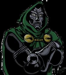 Dr. Doom by Neyebur