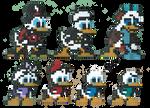 Ducktales Perler by Neyebur