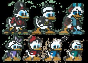 Ducktales Perler