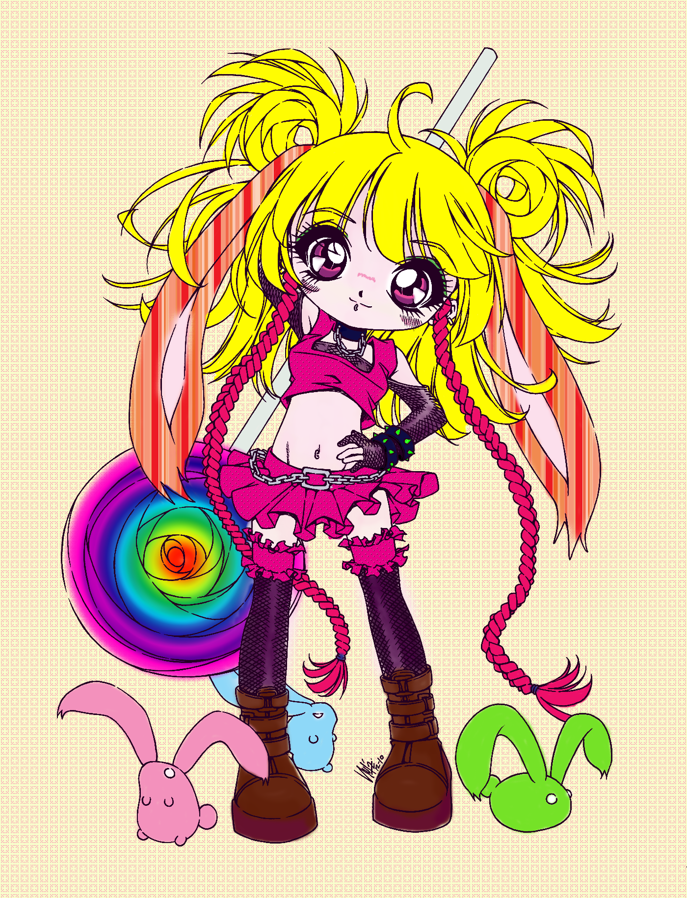 sweets____by_sureya- COLOUR by MindlessAngel