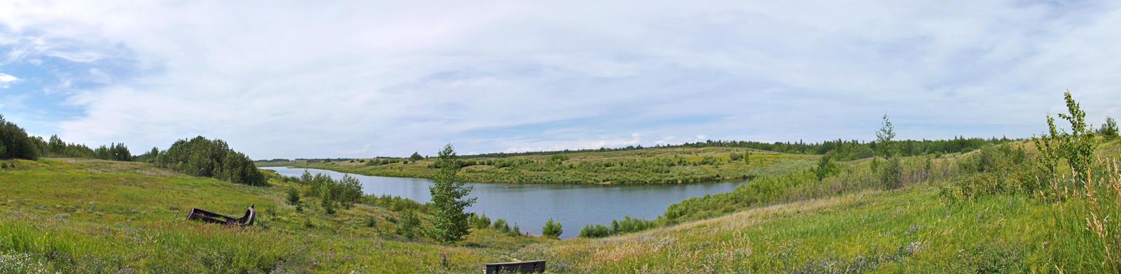 East Pit Lake Alberta by MindlessAngel