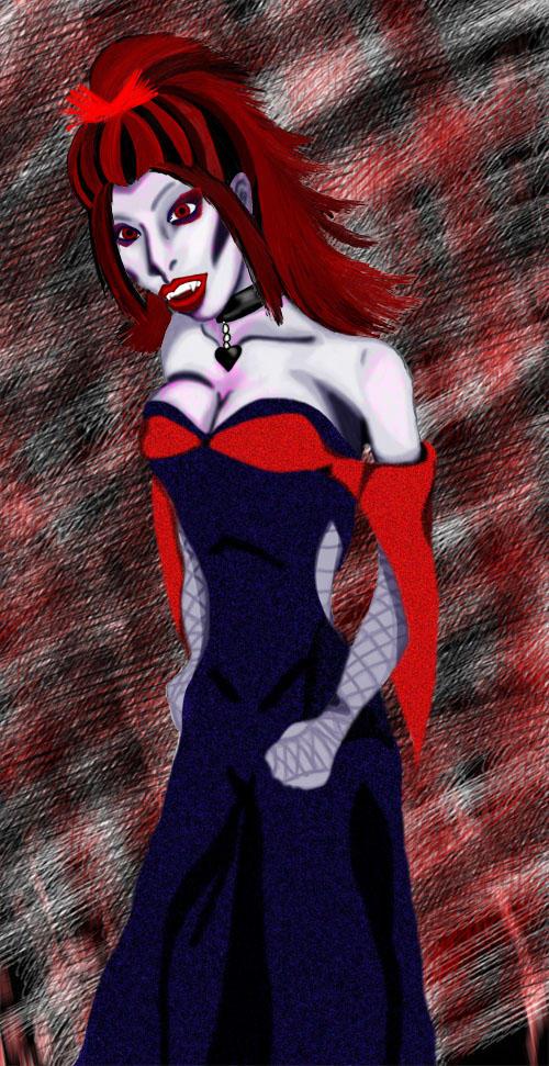 Lady Vampire by MindlessAngel