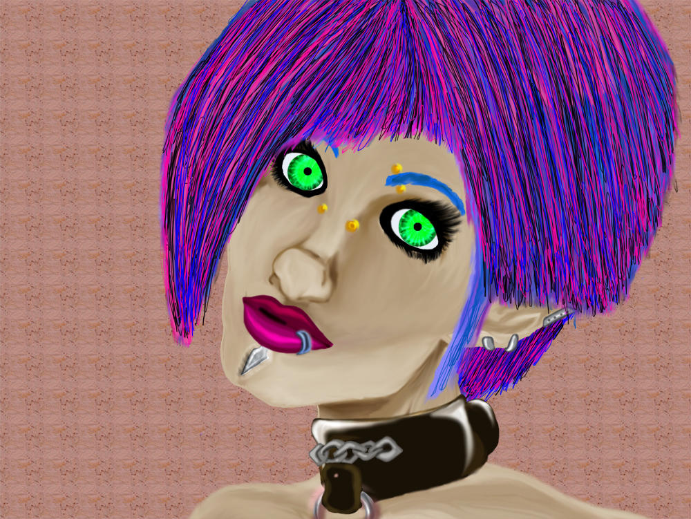 Punk with no name by MindlessAngel