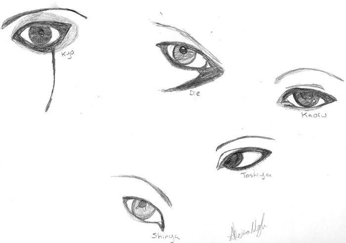 Dir en grey Eyes by MindlessAngel
