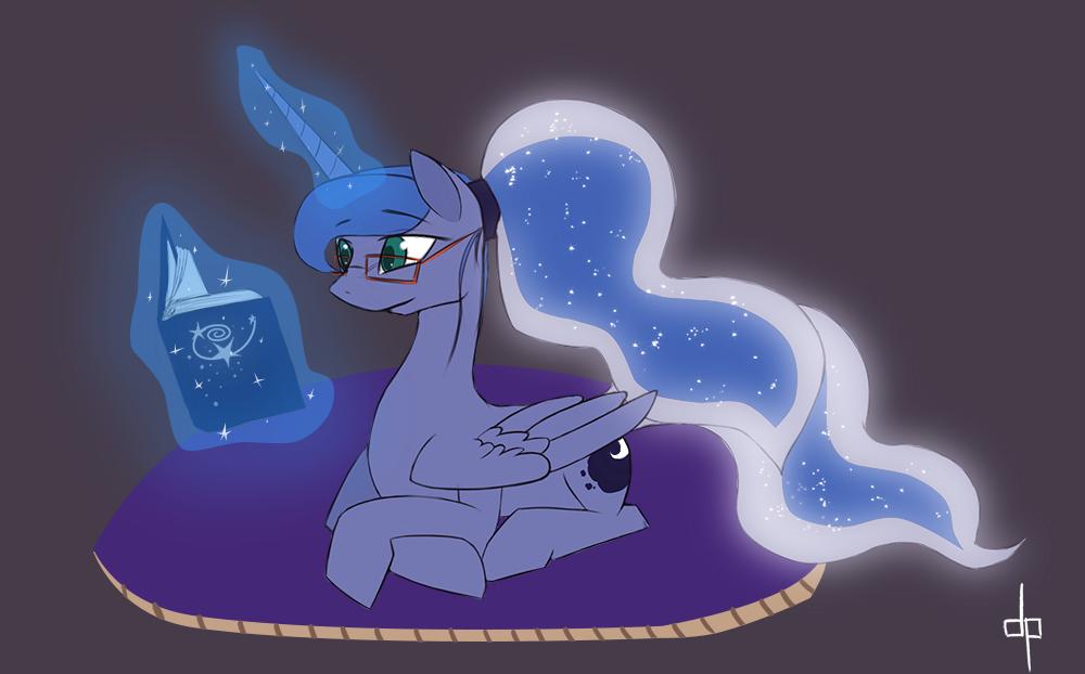 Bedtime reading by dream-phoenix