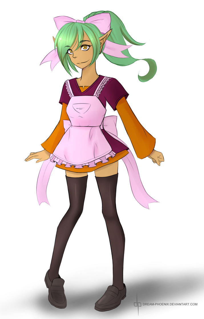 Harpy is the best maid by dream-phoenix